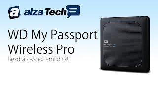 WD My Passport Wireless Pro: Bezdrátový externí disk! - AlzaTech #409