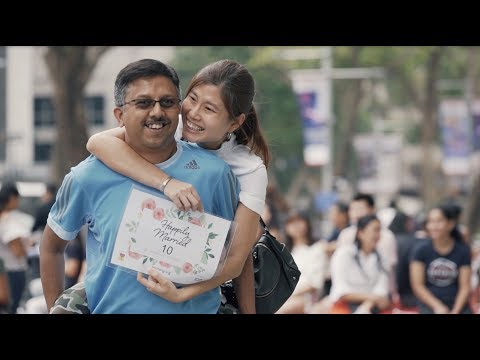 2018 World Marriage Day Flash Mob - Worldwide Marriage Encounter Singapore