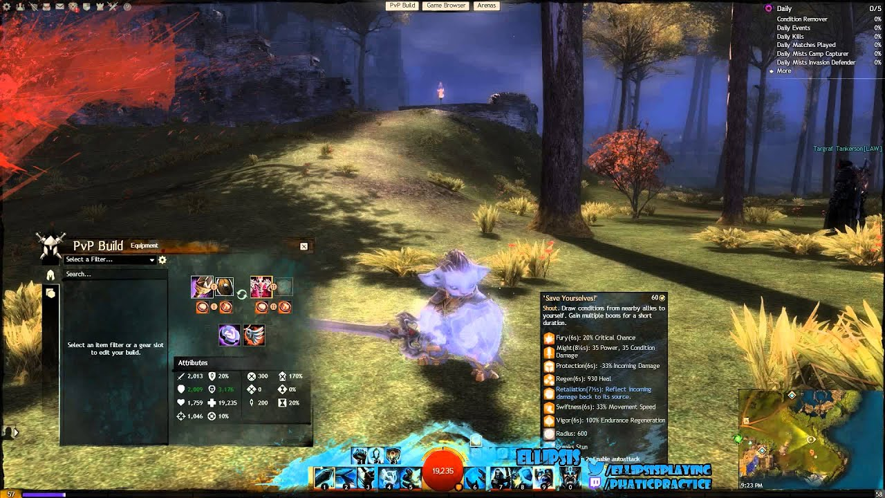 Guild Wars  Pvp Builds