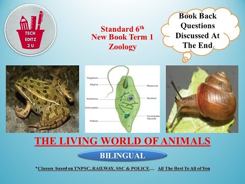 The Living World Of Animals | Std 6 | For TNPSC, SSC, RAILWAY, TRB, UPSC, & POLICE EXAMS