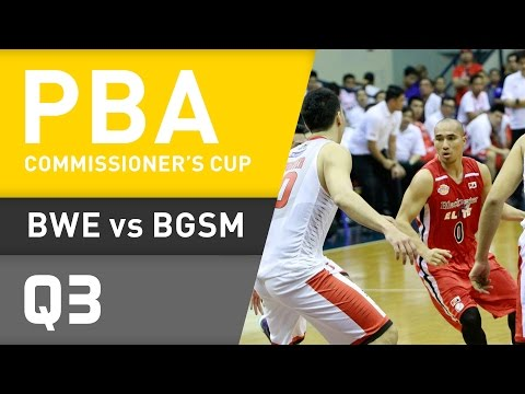 BLACKWATER VS. GINEBRA - Q3 | Commissioner