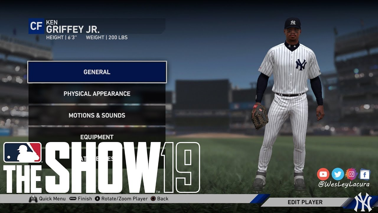 c3eebdb03d MLB The Show™ 19 - Ken Griffey Jr - MY PLAYER CREATION!!! - YouTube