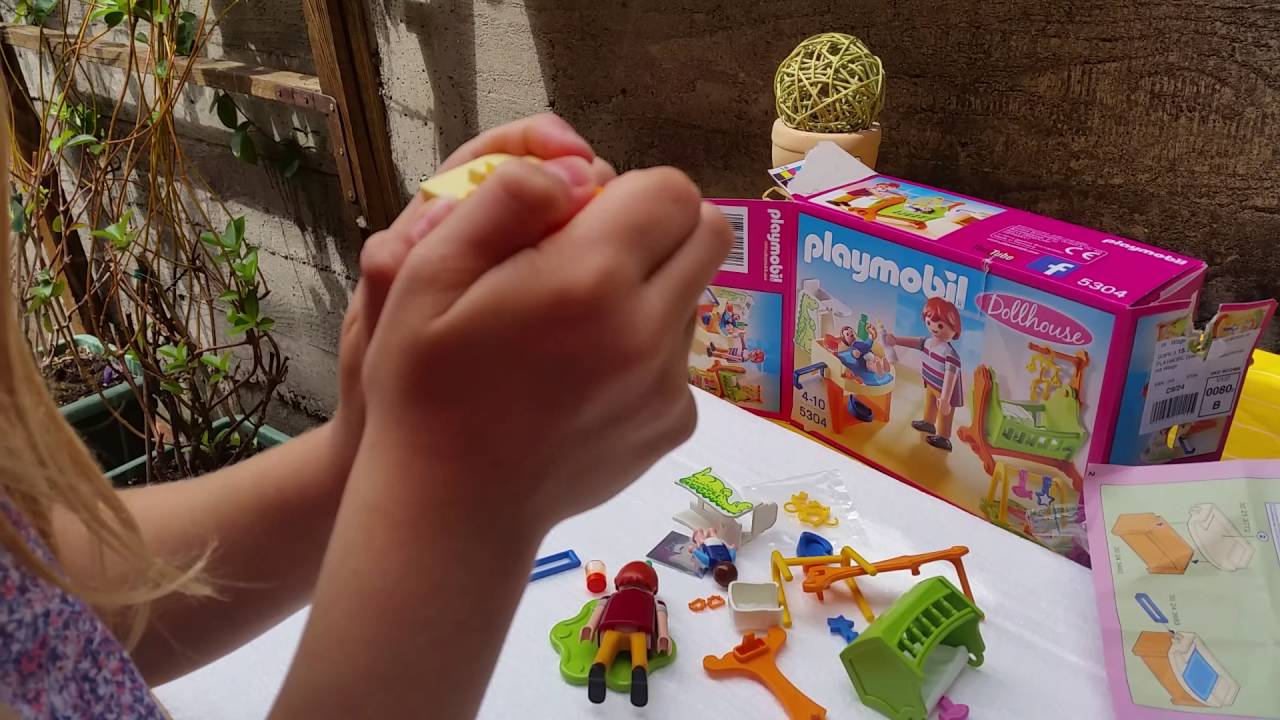 Playmobil Kinderzimmer - YouTube