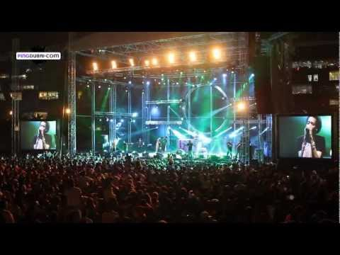 Wiz Khalifa, Tinie Tempah and David Vendetta Rap Dubai Media City Amphitheatre