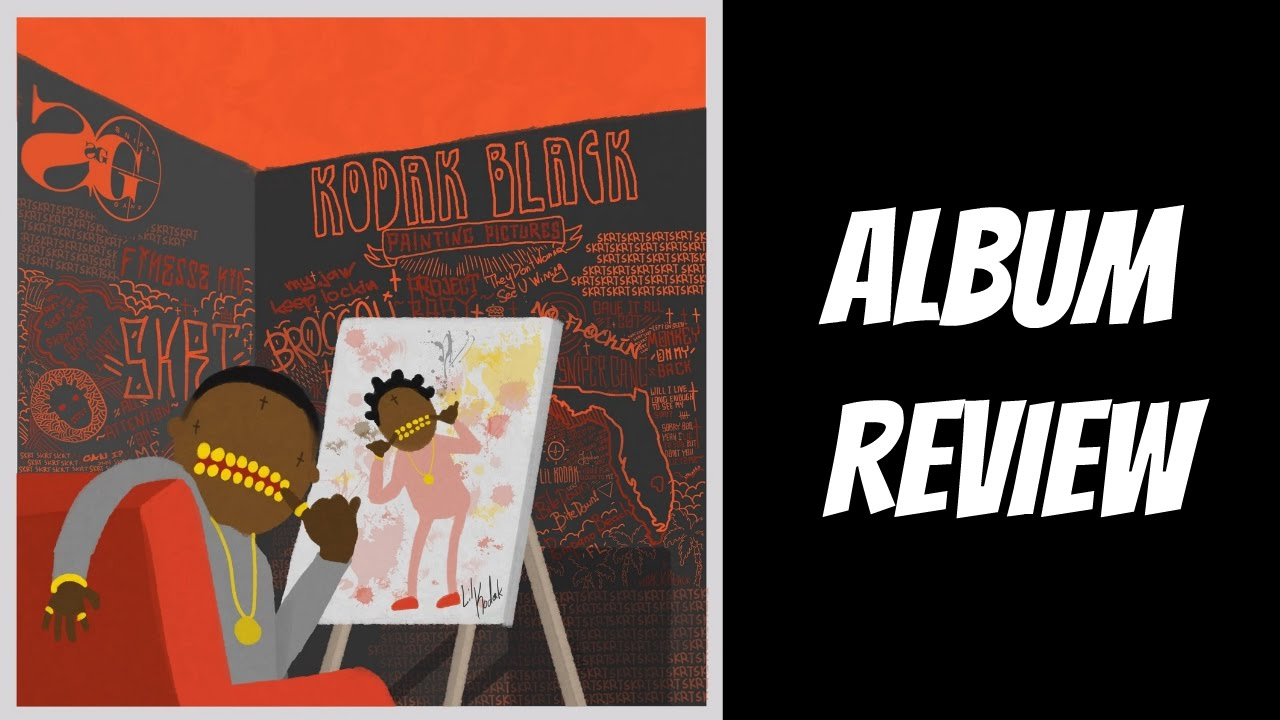 kodak black painting pictures album review youtube