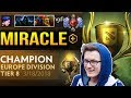 First Miracle Battle Cup with Dota 2 Plus - Europe Division Tier 8