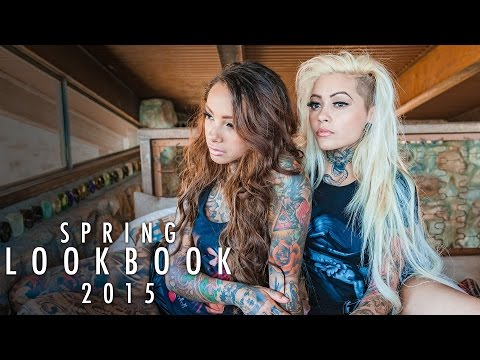 Sullen Angel Spring Fall Look Book 2015