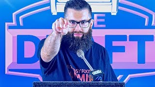 Fantasy Football Draft 2017 Couch League