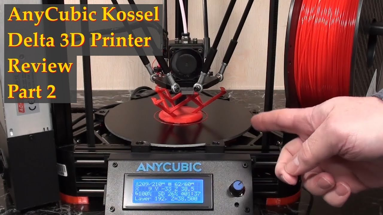 Anycubic Kossel Auto Level Firmware