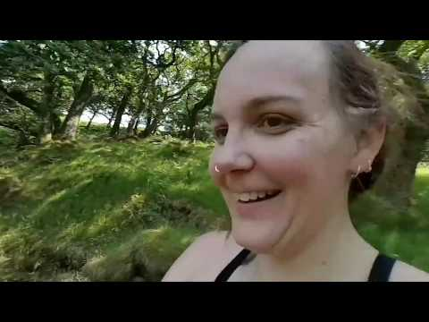 Naked (mostly) #wildcamping on Dartmoor. Part 1 thumbnail