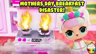 Unicorn is so excited for Mother's day as she tries to prepare brea...
