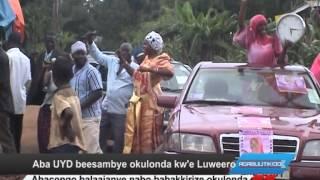 Aba UYD beesambye okulonda kw'e Luweero thumbnail