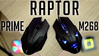 TECKNET Raptor M268 and Prime Gaming Mouse - Budget Gaming