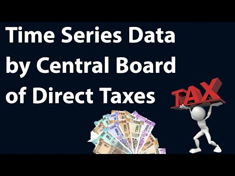 Time Series Data by Central Board of Direct Taxes, What factors are driving increase in tax base?