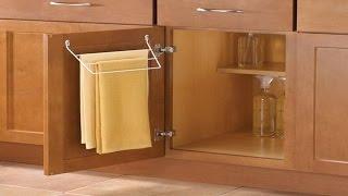 DIY Kitchen Towel Holding Ideas    Kitchen Towel Holder