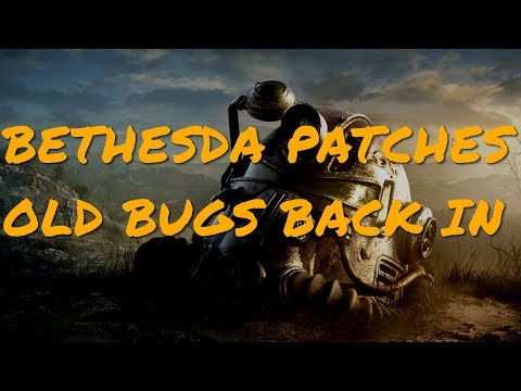 Fallout 76's New Patch Puts Previously Fixed Bugs BACK Into The Game thumbnail