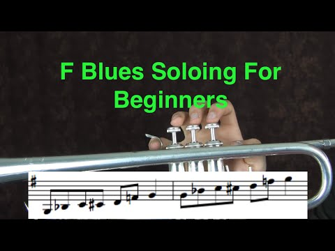 F Blues Soloing for Beginners on Trumpet