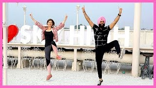 MUCHH - DILJIT DOSANJH | Bhangra by Christine ft. Aashish Singh Rehsia
