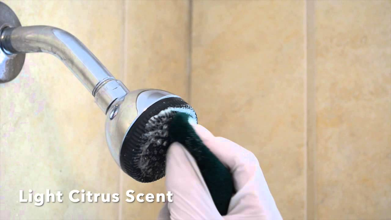 How to Remove (Clean) Severe Hard Water Scale from a Shower Head ...