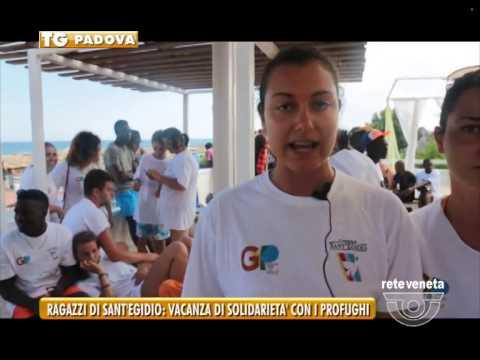 PADOVA TG - 14/08/2015 - RAGAZZI DI SANT'EGIDIO: VACANZA DI SOLIDARIETA' CON I PROFUGHI