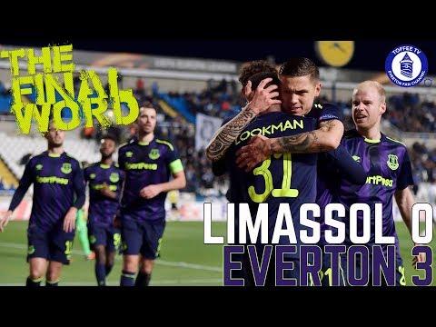 Apollon Limassol 0-3 Everton | The Final Word