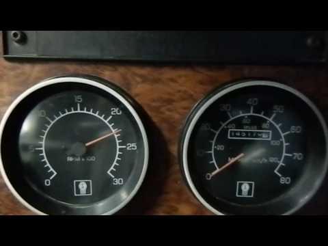 T300 Kenworth Dump ISC Cummins Start Idle up Oil Pressure