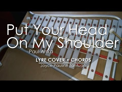 put your head on my shoulder - paul anka - lyre cover