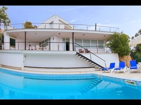 Costa Brava Villa moderne avec piscine prive  YouTube