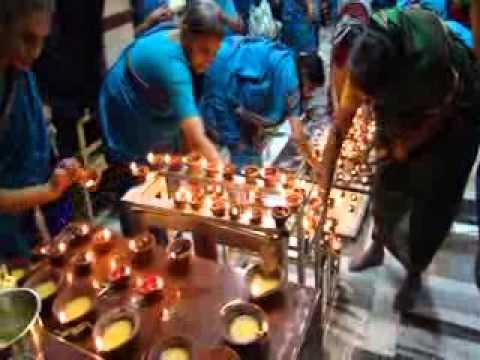Karthigai Uthiram -Deepothsavam Mumbai Sri Krishna Sabha after Sri Lakshmi Sahasram Parayanam