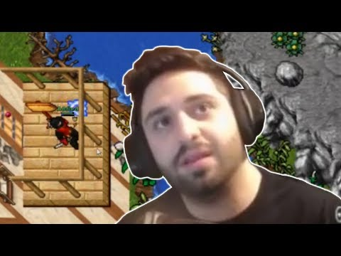 ADDLED SOLVES THE CURSE OF TIBIA - BEST OF TIBIA #26 - TWITCH   TIBIA