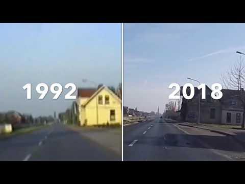 Vergleichsfahrt 1992 vs