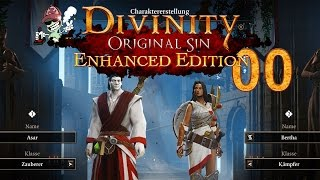 Divinity: Original Sin Enhanced Edition | 00 | Charaktererstellung [german gameplay]