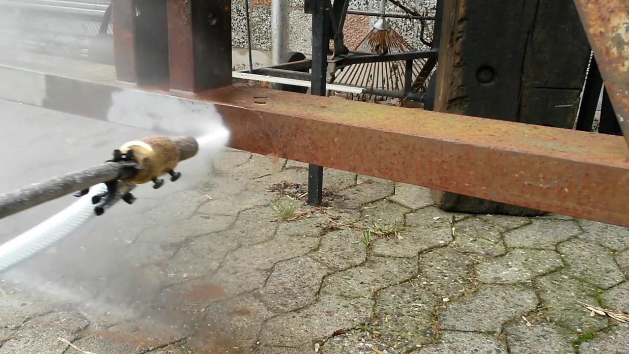 Karcher Nassstrahleinrichtung Sandstrahlen Entrosten Youtube