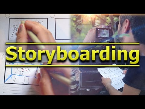 Storyboarding - Tomorrow's Filmmakers