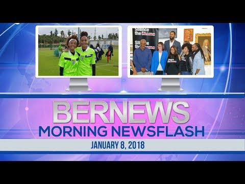 Bernews Newsflash For Monday January 8, 2018