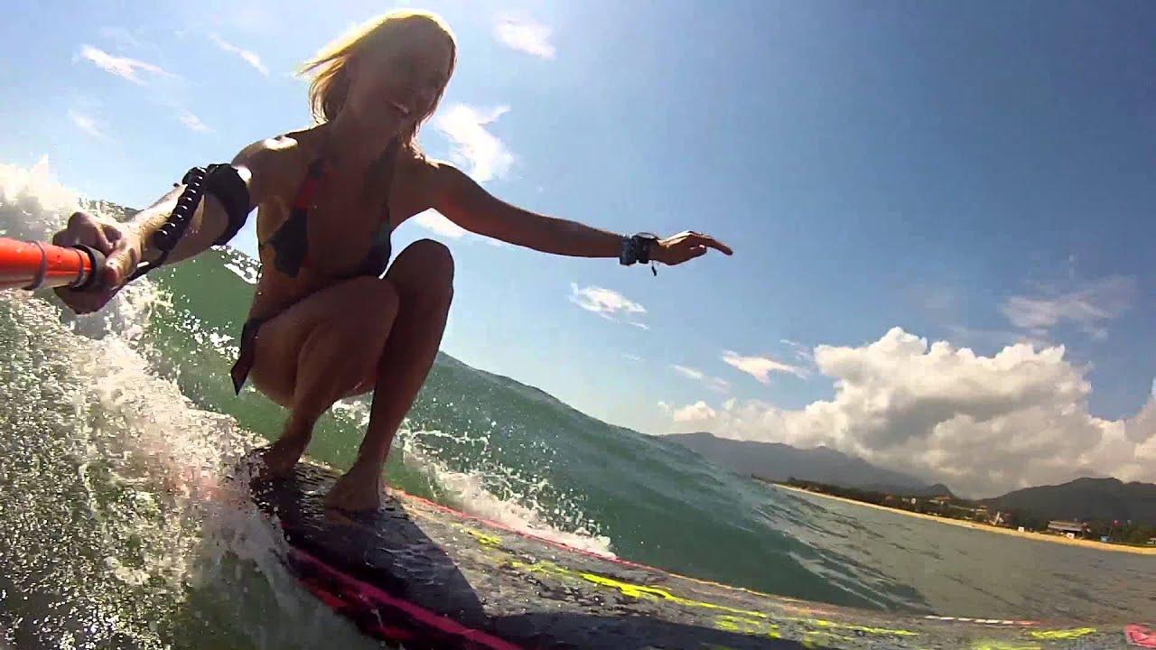 Wallpaper Hd Surfer Girl Drift Hd Ghost Surf With Coline Menard Youtube