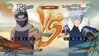 Naruto Shippuden Ultimate Ninja Storm 4, Kakuzu VS The Second Hokage Tobirama Senju!