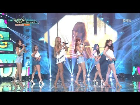 뮤직뱅크 Music Bank - Touch My Body + Loving U + SHAKE IT - 씨스타 (SISTAR).20170602