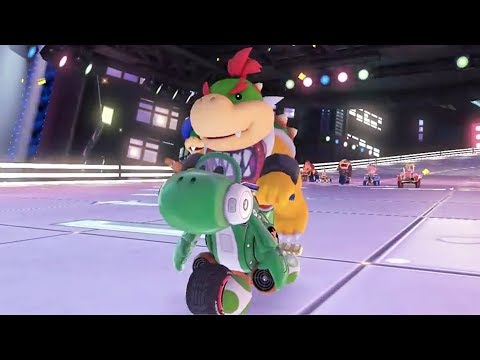 Mario Kart 8 Deluxe - All Tracks 200cc (Full Races)