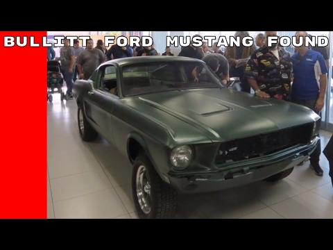 Lost Bullitt 1968 Ford Mustang Fastback Found In Mexico