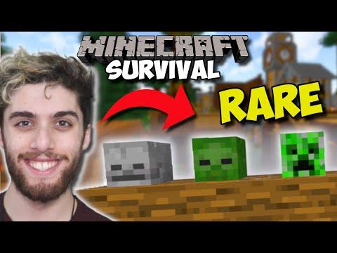 EASY MOB HEAD FARMING IN SURVIVAL MINECRAFT!!! - Minecraft Survival [Ep 236] |