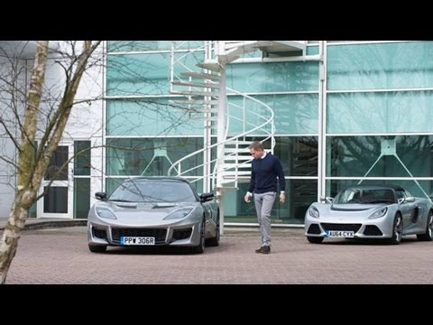 Bond Star Daniel Craig Takes Delivery Of Lotus Evora 400