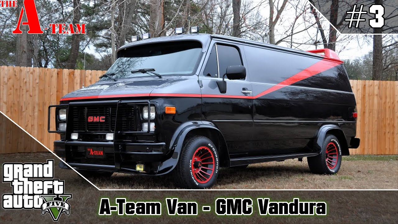 GTA 5 The A Team Van