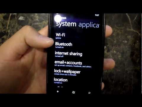 Windows Phone 7 Tango Update (AT&T Nokia Lumia 900) Overview