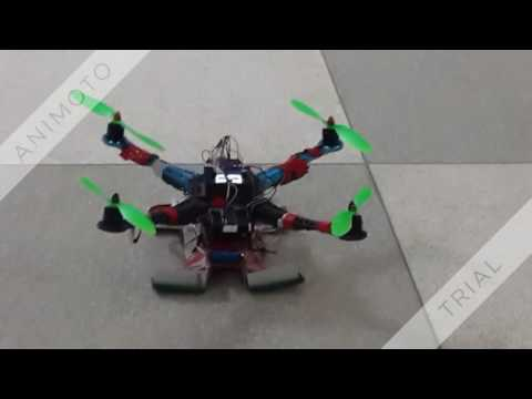 Simplified Automated Quad-copter
