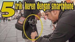 5 trick video cinematic dengan smartphone / gopro