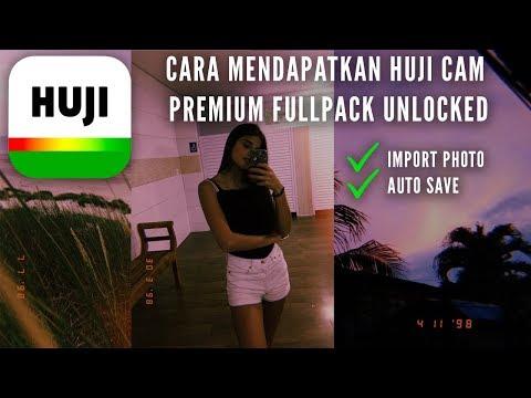 Cara Mendapatkan HUJI Cam Premium Fullpack GRATIS (100% Work