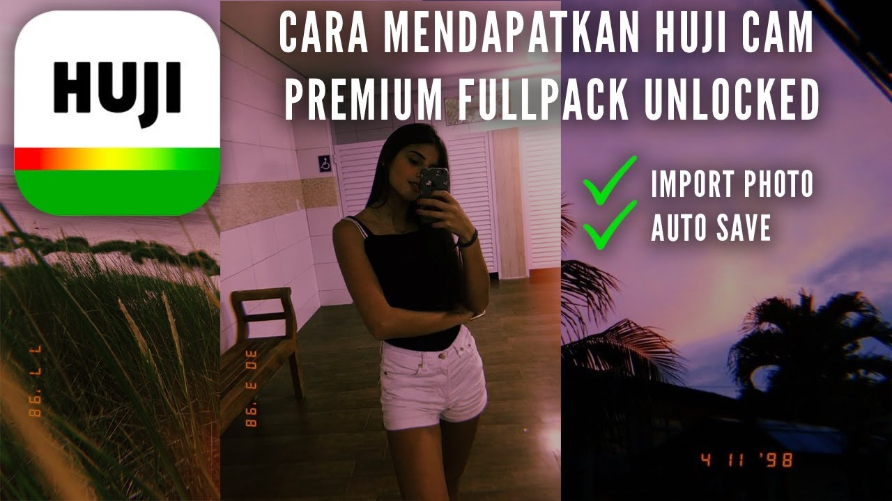 How to Get HUJI Cam Premium Pro FREE! (100% Work) Android