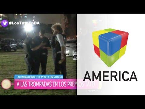 Escándalo en los Premios Tato: le pegaron una trompada a Rulo