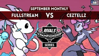 NA RCS September - Losers Finals - FullStream (Ori) vs Ceztellz (Absa)